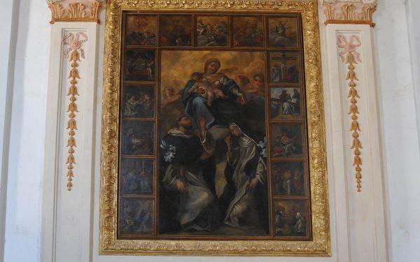 Riano chiesa Immacolata Concezione – Altari laterali