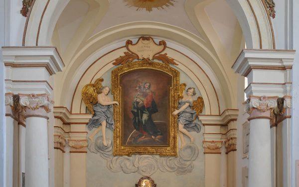 Riano chiesa Immacolata Concezione – Catino absidale