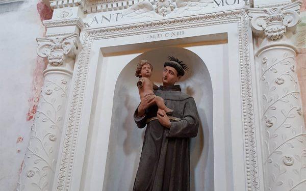 Palombara Sabina – Chiesa di San Francesco – Altare di Sant'Antonio
