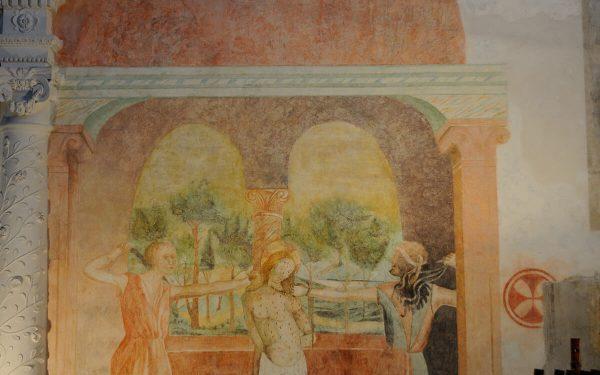 Palombara Sabina – Chiesa di San Francesco – Flagellazione